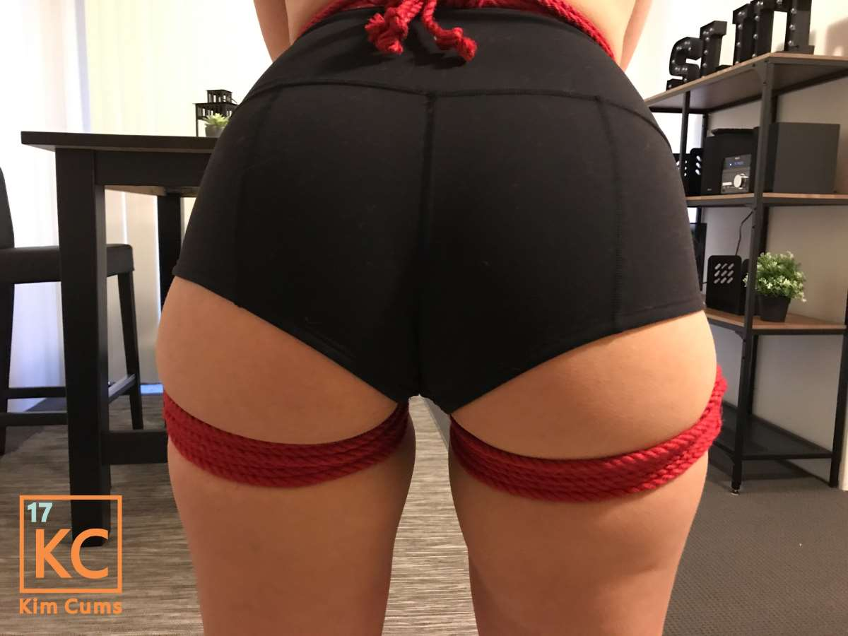 Kim Cums: Rope Practice for Sensual Ball