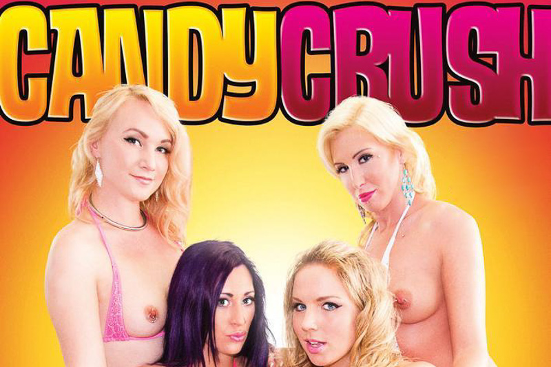 Kim Cums: Candy Crush Porn Bluray/DVD